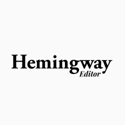 hemingway is small business editing